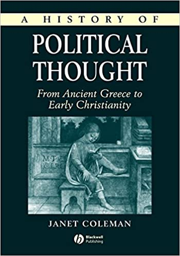 Coleman History of Political Thought